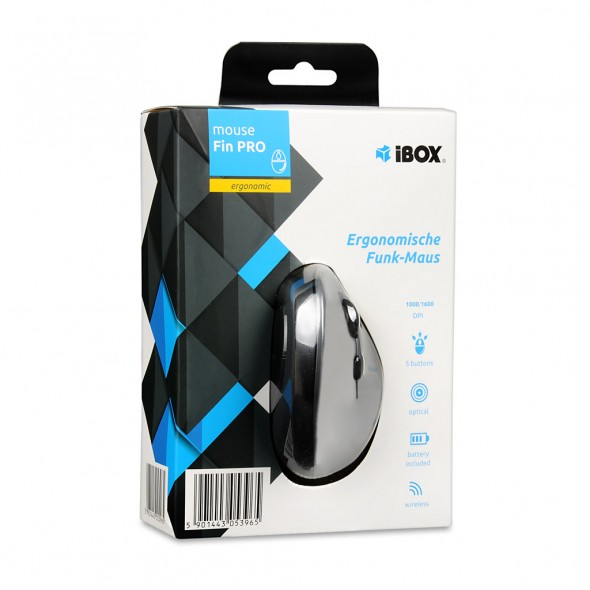 Mouse wireless Fin Pro IBOX